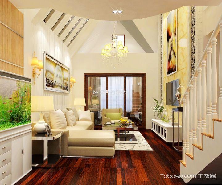 现代简约风格120平米复式新房装修效果图