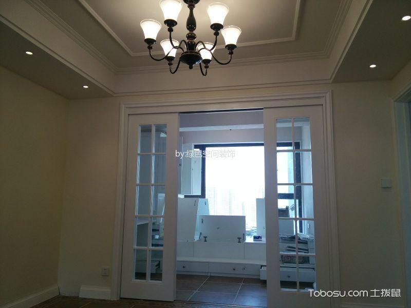 华府庄园110平三室两厅一卫简欧风格装修效果图