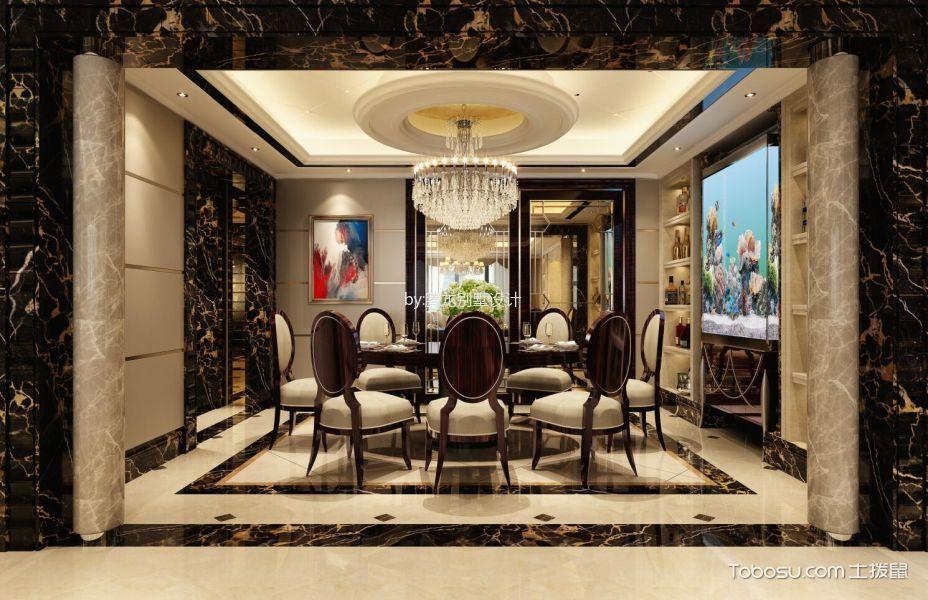 黄浦绿城盛世滨江大平层新古典欧式风格效果图