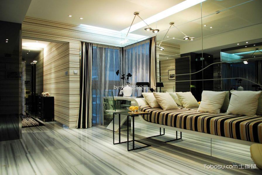 现代简约风格200平米别墅新房装修效果图