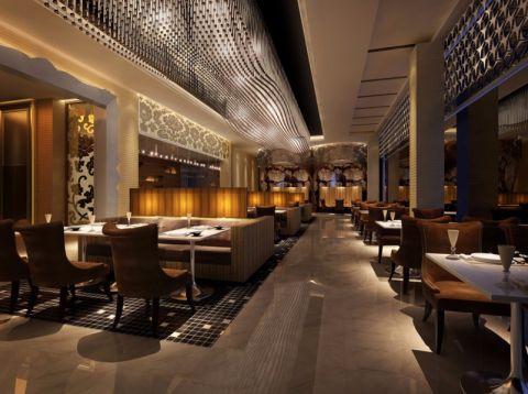 南开区西餐厅工装装修效果图