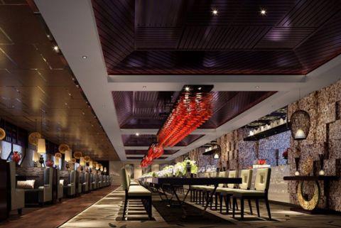 河西区西餐厅工装装修效果图