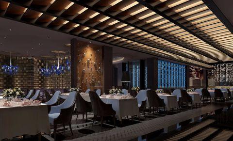 和平区西餐厅工装装修效果图