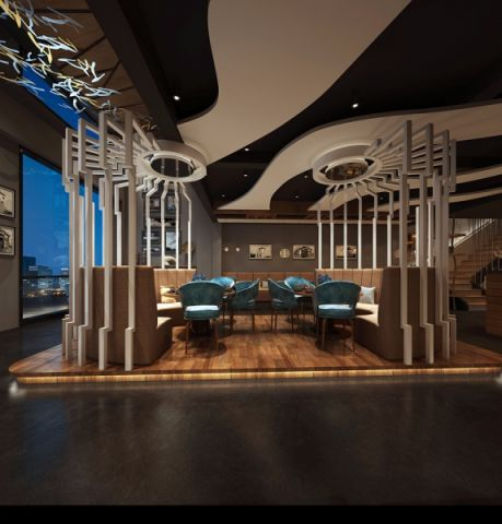 塘厦四季芳菲餐厅装修效果图