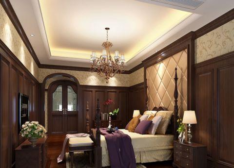 绿城玉兰公寓500平美式新古典装修效果图