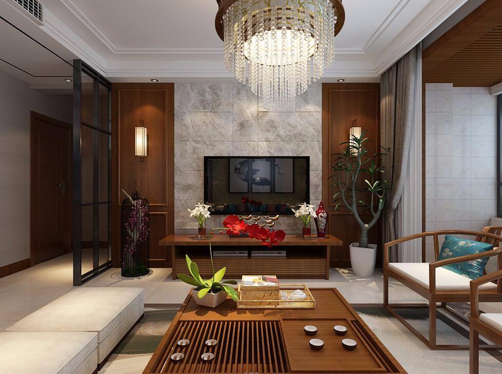 3室2卫2厅130平米新中式风格