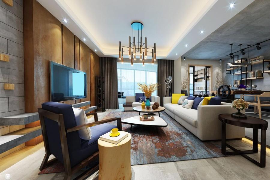 3室2卫2厅165平米现代风格