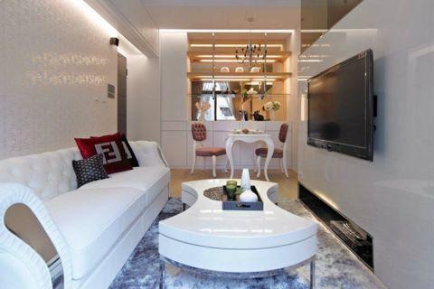 2021现代简约70平米设计图片 2021现代简约公寓装修设计