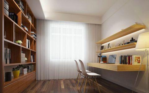远洋城98平米现代简约风格住宅效果图