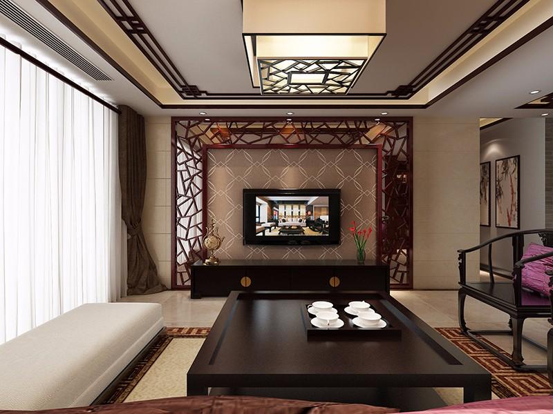 3室1卫1厅新中式风格