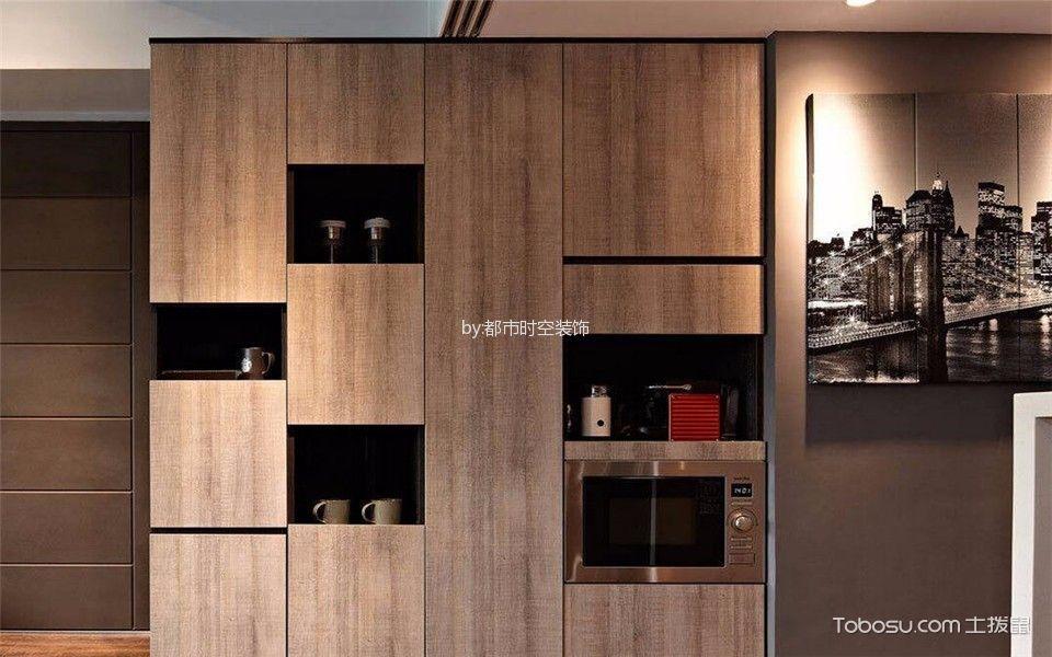 客厅咖啡色细节现代简约风格效果图