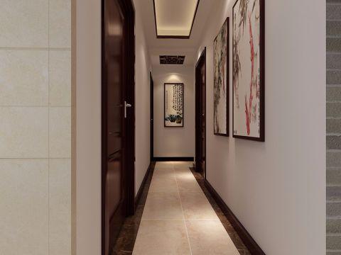 走廊新中式风格装修设计图片