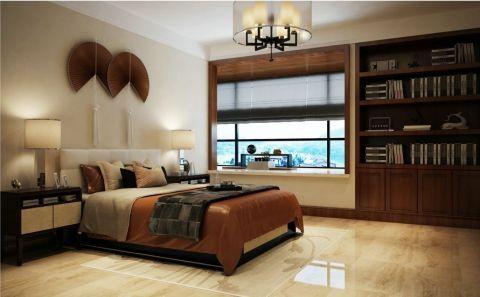 卧室博古架新中式风格装饰设计图片