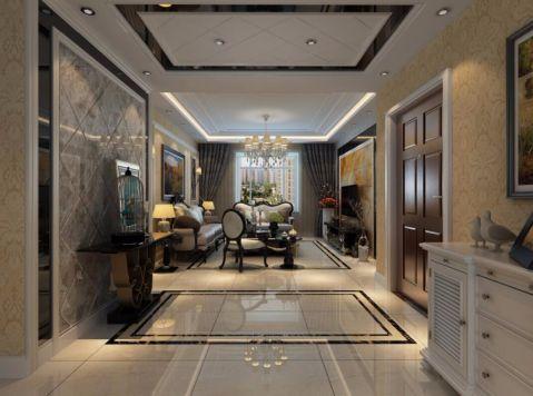 玄关吊顶欧式风格装饰图片