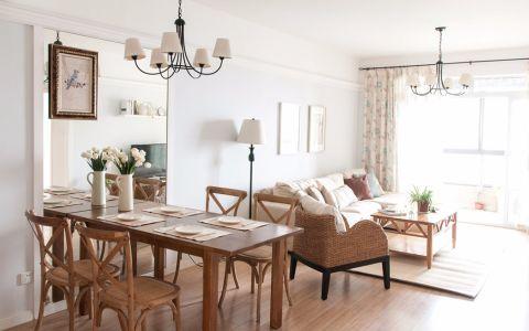 2020美式100平米圖片 2020美式二居室裝修設計