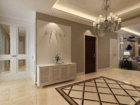 玄关吊顶简欧风格装饰设计图片