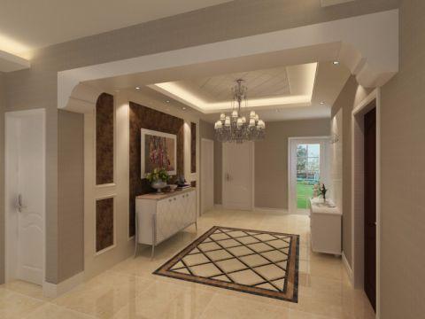 玄关门厅简欧风格装潢设计图片