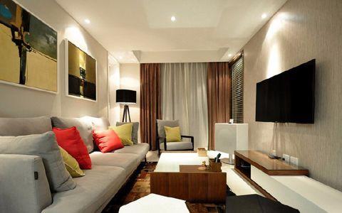 2020現代90平米效果圖 2020現代二居室裝修設計