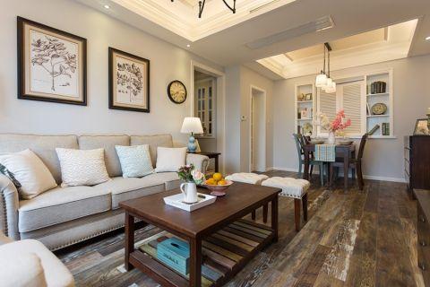 2020美式100平米圖片 2020美式三居室裝修設計圖片