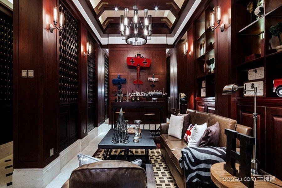 上海柳湖景庭美式风格别墅效果图
