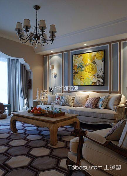 2021古典110平米装修图片 2021古典套房设计图片