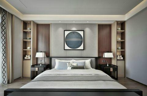 卧室吊顶中式风格装潢图片