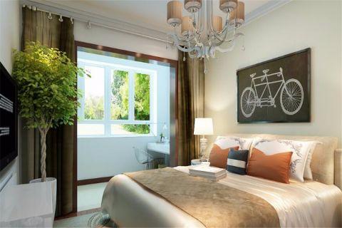 卧室窗台现代简约风格装修效果图