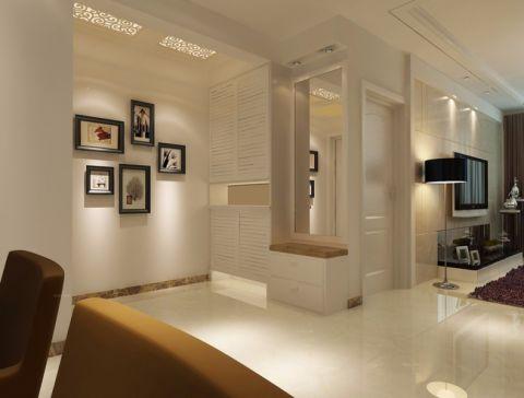 玄关照片墙现代风格装潢效果图