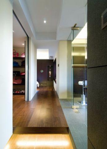 走廊现代简约风格装饰设计图片