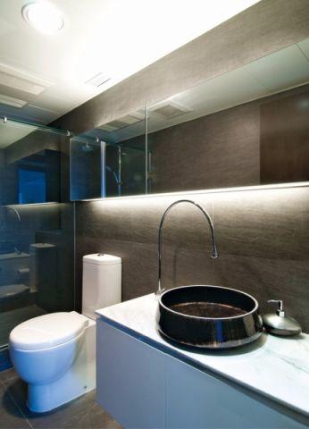 卫生间现代简约风格装饰图片