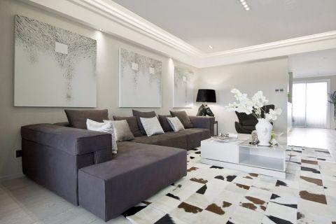 客厅背景墙后现代风格效果图