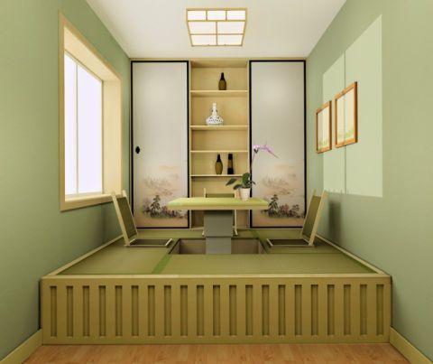 榻榻米日式风格装饰效果图