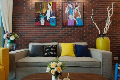 客厅背景墙经典风格装饰图片