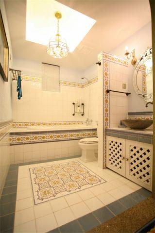 卫生间吊顶地中海风格装修设计图片