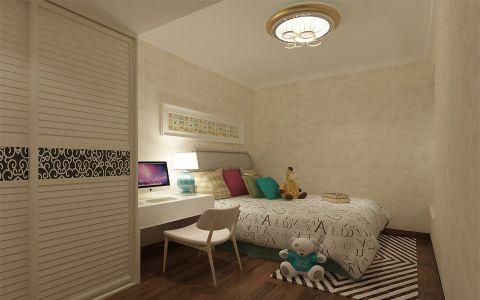 中海千灯湖一号现代三居室装修效果图