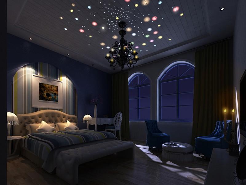 2室1卫2厅90平米地中海风格