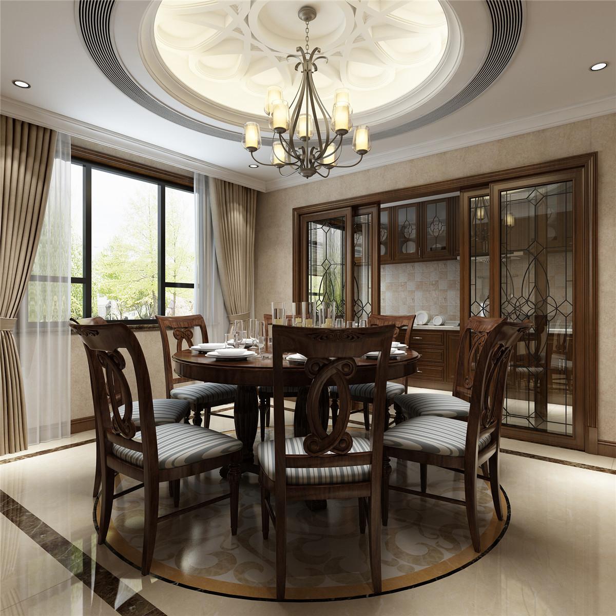 5室5卫3厅580平米新中式风格