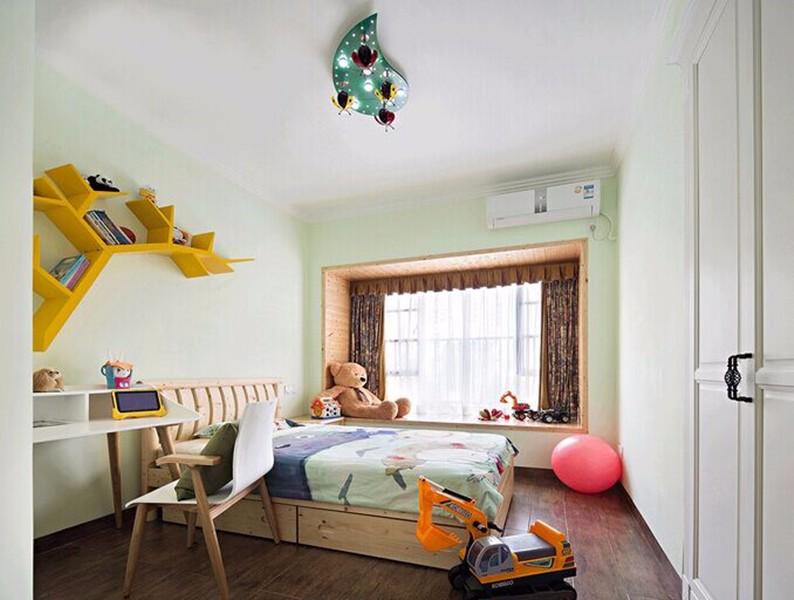 2室1卫2厅90平米新中式风格