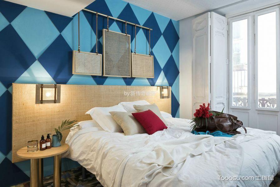 现代简约卧室装修实景图片