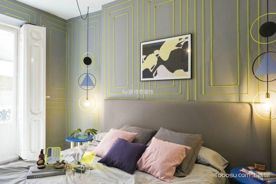 现代简约卧室装饰图片欣赏