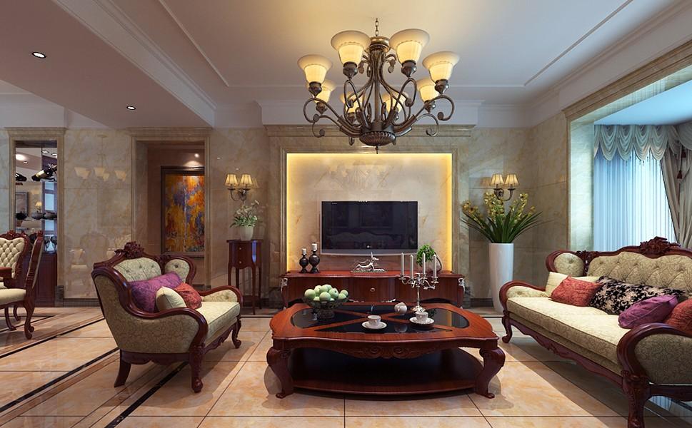 4室2卫1厅130平米古典风格