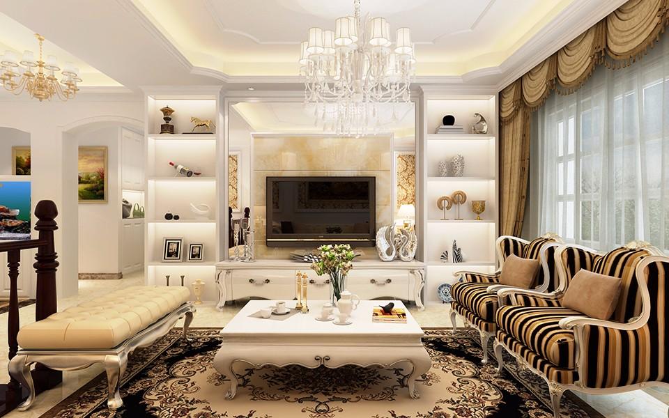 2室1卫2厅70平米欧式风格