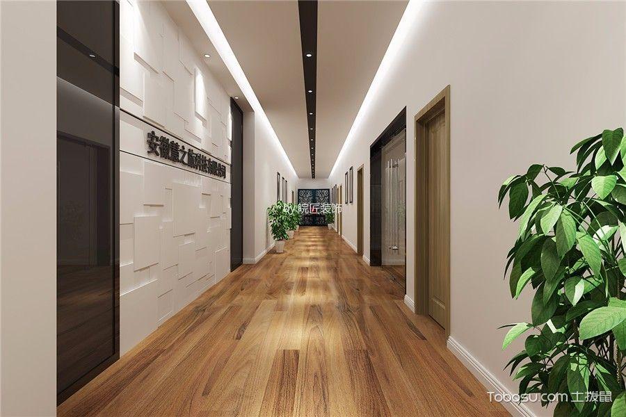 公司办公室走廊装潢设计图片