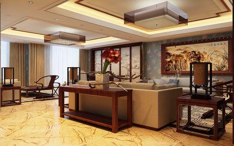 河东万达广场万达总裁办公室装修效果图