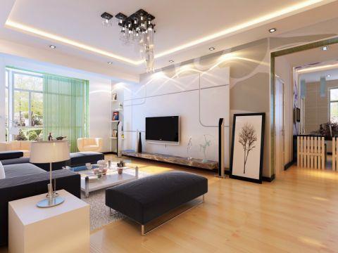 犀地一居室简约风格效果图
