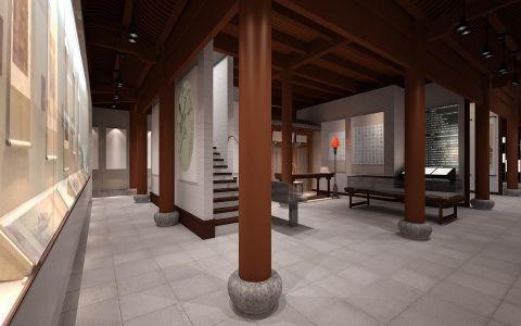 任伯年纪念馆展厅装修效果图