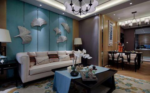 2020中式80平米设计图片 2020中式二居室装修设计