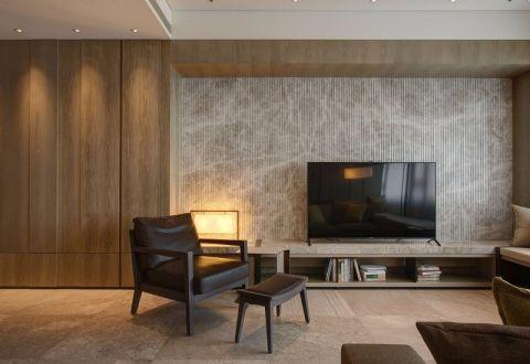 2018日式客厅装修设计 2018日式电视背景墙图片