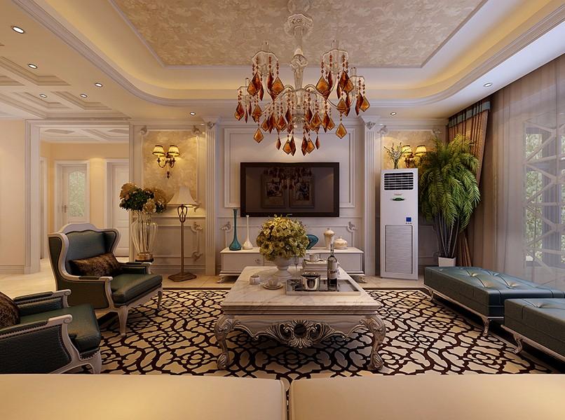 3室1卫1厅130平米简欧风格