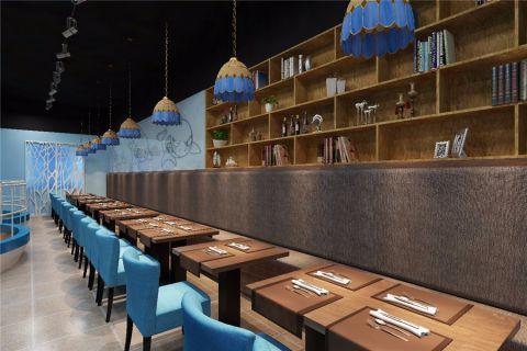 海鲜餐厅工装装修效果图